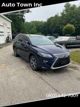 2018 Lexus RX 350L for sale at Auto Town Inc in Brentwood NH