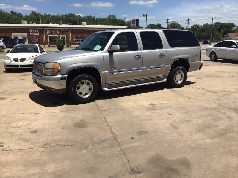 2004 GMC Yukon XL for sale at 4 B CAR CORNER in Anadarko OK