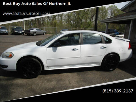 2011 Chevrolet Impala for sale at Best Buy Auto Sales of Northern IL in South Beloit IL