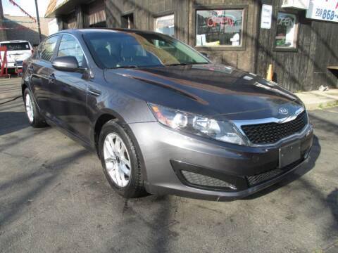2011 Kia Optima for sale at EZ Finance Auto in Calumet City IL