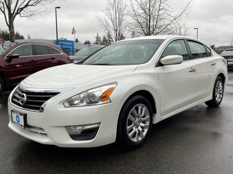 2014 Nissan Altima for sale at GO AUTO BROKERS in Bellevue WA