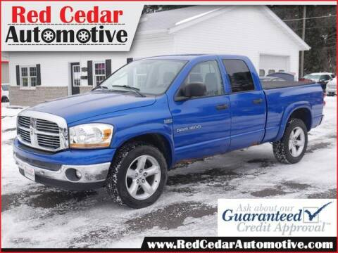 2007 Dodge Ram Pickup 1500 for sale at Red Cedar Automotive in Menomonie WI