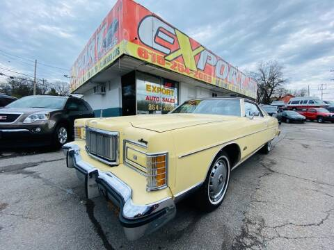 1975 Mercury Marquis for sale at EXPORT AUTO SALES, INC. in Nashville TN