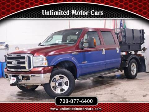 2005 Ford F-250 Super Duty for sale at Unlimited Motor Cars in Bridgeview IL