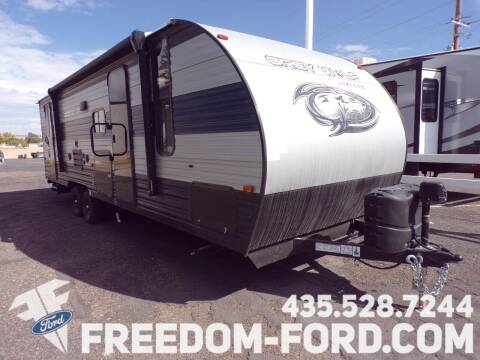 2021 Forest River Grey Wolf 26DBH for sale at Freedom Ford Inc in Gunnison UT