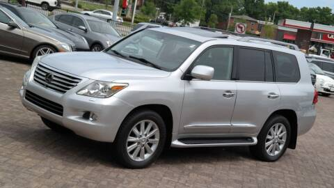 2009 Lexus LX 570 for sale at Cars-KC LLC in Overland Park KS