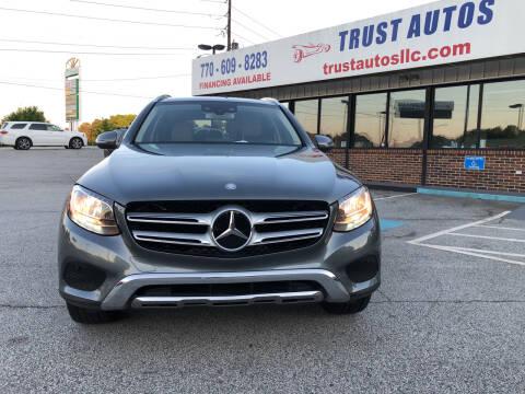 2016 Mercedes-Benz GLC for sale at Trust Autos, LLC in Decatur GA