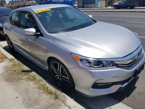 2016 Honda Accord for sale at Ournextcar/Ramirez Auto Sales in Downey CA