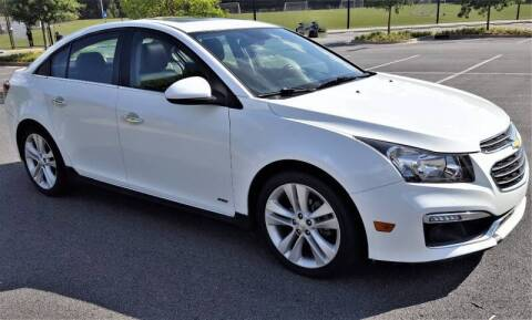 2015 Chevrolet Cruze for sale at memar auto sales, inc. in Marietta GA