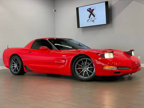 2002 Chevrolet Corvette for sale at TX Auto Group in Houston TX
