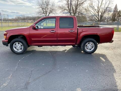 2010 Chevrolet Colorado for sale at Caruzin Motors in Flint MI