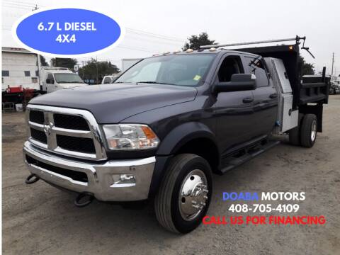 2016 RAM Ram Chassis 5500 for sale at DOABA Motors - Dump Truck in San Jose CA