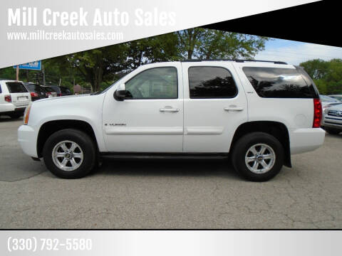 2007 GMC Yukon for sale at Mill Creek Auto Sales in Youngstown OH