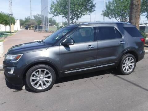 2016 Ford Explorer for sale at J & E Auto Sales in Phoenix AZ