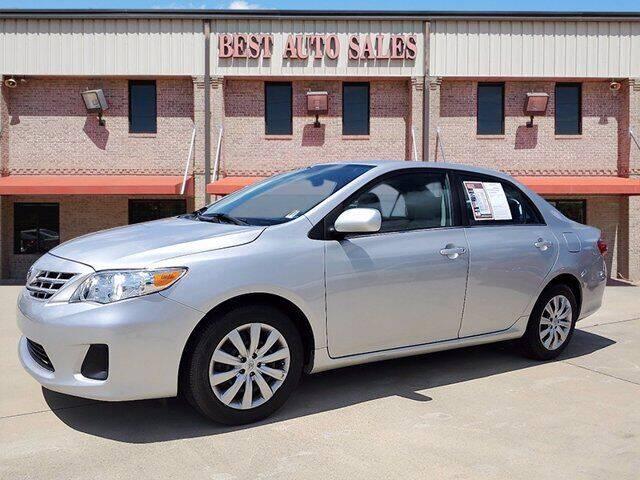 2013 Toyota Corolla for sale at Best Auto Sales LLC in Auburn AL