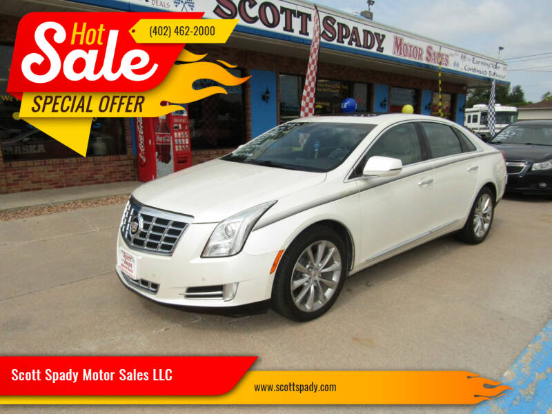 2013 Cadillac XTS for sale at Scott Spady Motor Sales LLC in Hastings NE