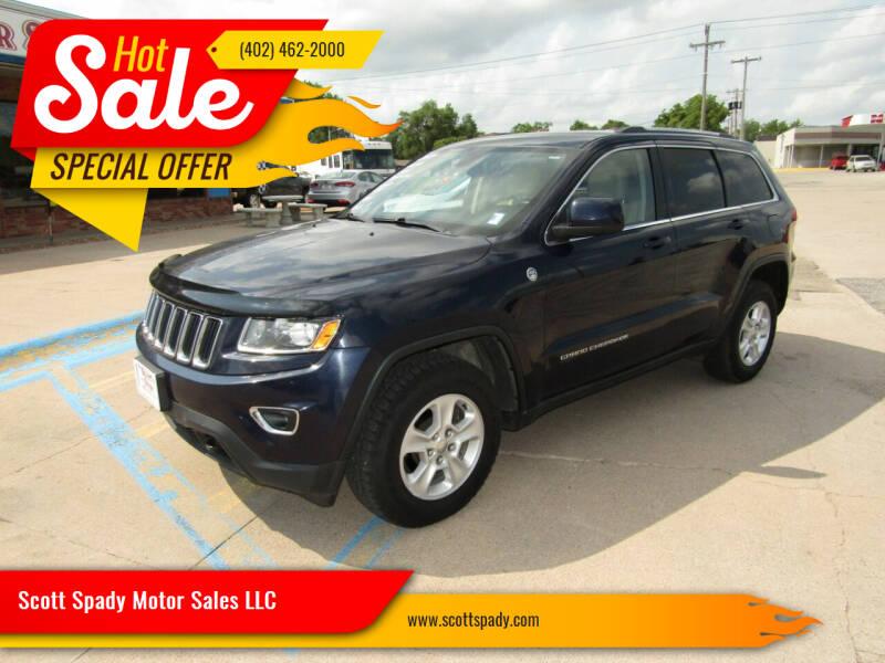 2014 Jeep Grand Cherokee for sale at Scott Spady Motor Sales LLC in Hastings NE