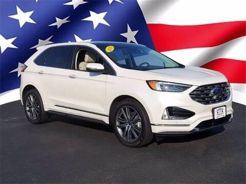 2019 Ford Edge for sale at Gentilini Motors in Woodbine NJ