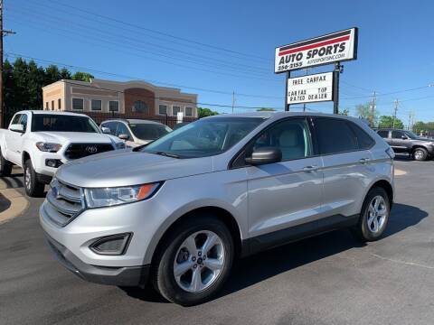 2015 Ford Edge for sale at Auto Sports in Hickory NC