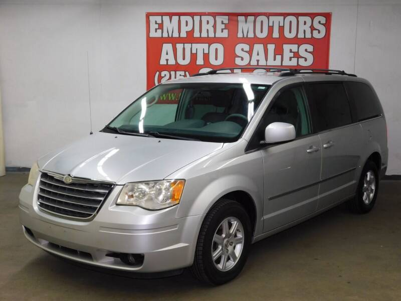 2010 Chrysler Town and Country for sale at EMPIRE MOTORS AUTO SALES in Philadelphia PA