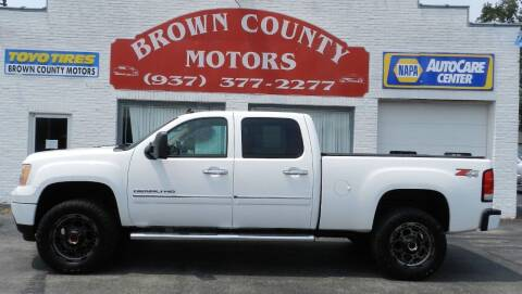 2012 GMC Sierra 2500HD for sale at Brown County Motors in Russellville OH