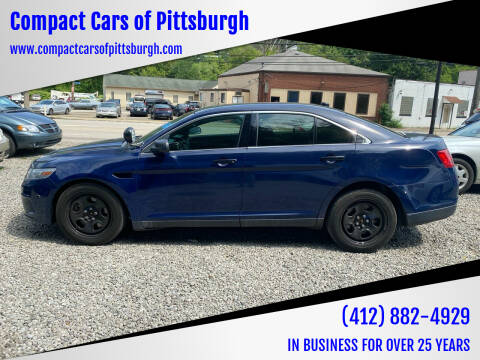 2014 Ford Taurus for sale at Compact Cars of Pittsburgh in Pittsburgh PA