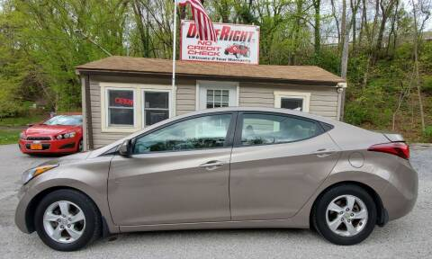 2015 Hyundai Elantra for sale at DriveRight Autos South York in York PA
