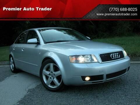2004 Audi A4 for sale at Premier Auto Trader in Alpharetta GA