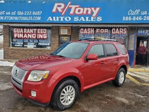 2010 Mercury Mariner for sale at R Tony Auto Sales in Clinton Township MI