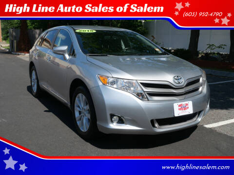 2015 Toyota Venza for sale at High Line Auto Sales of Salem in Salem NH