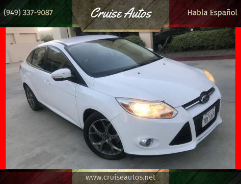 2014 Ford Focus for sale at Cruise Autos in Corona CA