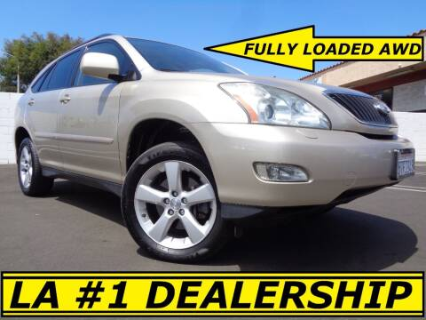 2006 Lexus RX 330 for sale at ALL STAR TRUCKS INC in Los Angeles CA
