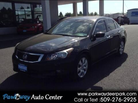 2010 Honda Accord for sale at PARKWAY AUTO CENTER AND RV in Deer Park WA