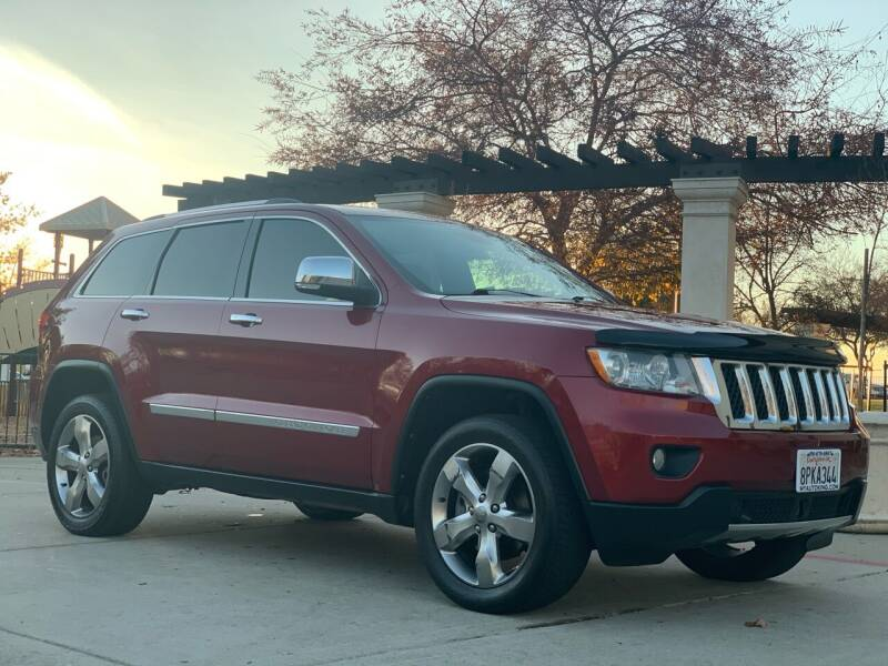 2012 Jeep Grand Cherokee for sale at Auto King in Roseville CA