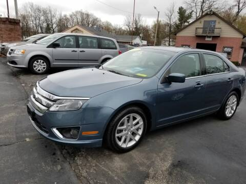 2012 Ford Fusion for sale at R C Motors in Lunenburg MA