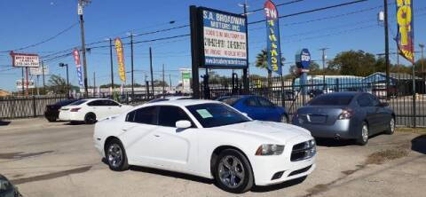 2014 Dodge Charger for sale at S.A. BROADWAY MOTORS INC in San Antonio TX