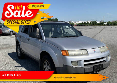 2003 Saturn Vue for sale at A & R Used Cars in Clayton NJ