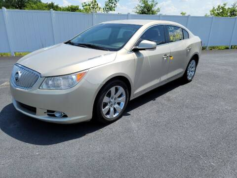 2010 Buick LaCrosse for sale at Caps Cars Of Taylorville in Taylorville IL