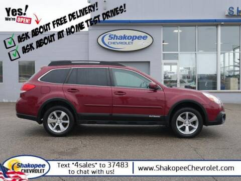 2014 Subaru Outback for sale at SHAKOPEE CHEVROLET in Shakopee MN