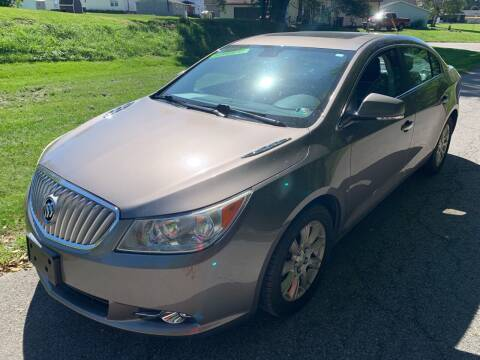 2012 Buick LaCrosse for sale at Trocci's Auto Sales in West Pittsburg PA