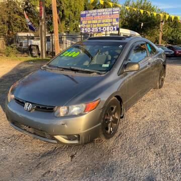 2006 Honda Civic for sale at C.J. AUTO SALES llc. in San Antonio TX