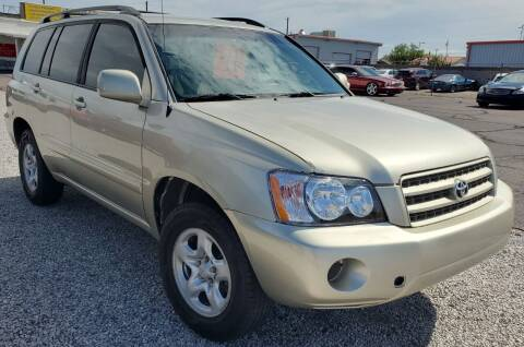 2002 Toyota Highlander for sale at AZ Auto and Equipment Sales in Mesa AZ