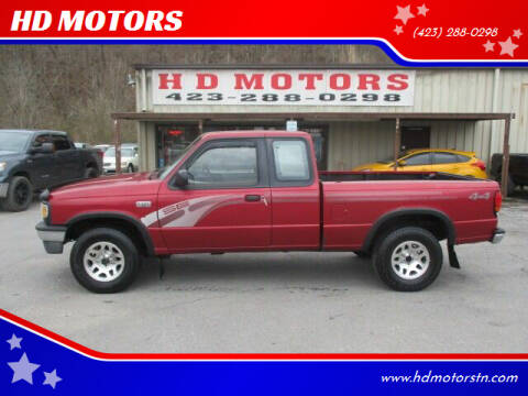 1996 Mazda B-Series Pickup for sale at HD MOTORS in Kingsport TN