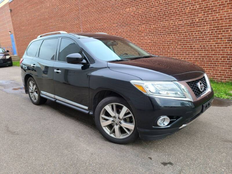 2013 Nissan Pathfinder for sale at Minnesota Auto Sales in Golden Valley MN