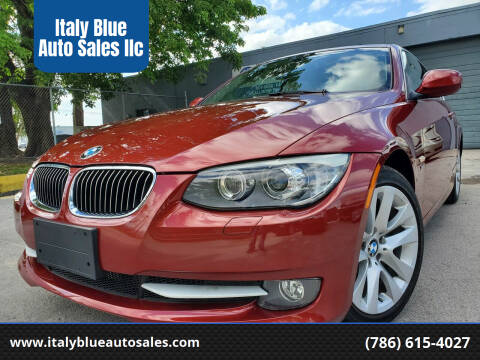 2012 BMW 3 Series for sale at Italy Blue Auto Sales llc in Miami FL