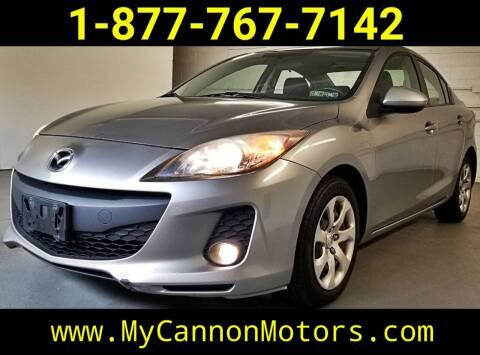 2012 Mazda MAZDA3 for sale at Cannon Motors in Silverdale PA