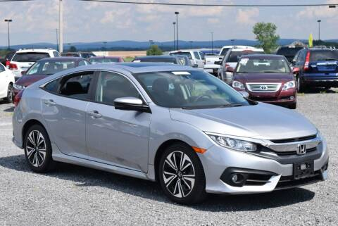 2016 Honda Civic for sale at GREENPORT AUTO in Hudson NY