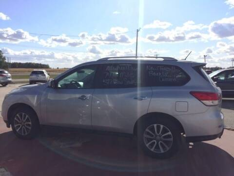 2014 Nissan Pathfinder for sale at THEILEN AUTO SALES in Clear Lake IA