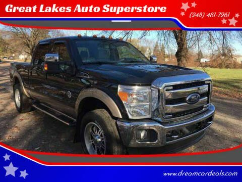 2012 Ford F-250 Super Duty for sale at Great Lakes Auto Superstore in Pontiac MI