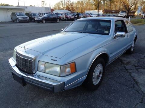 1990 Lincoln Mark VII for sale at Liberty Motors in Chesapeake VA